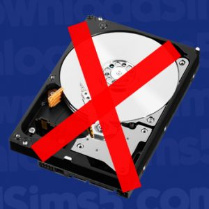 Disk drives are less common