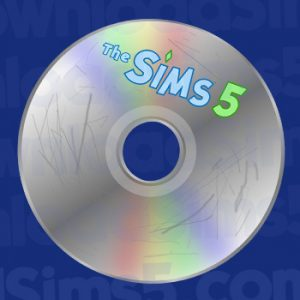 The Sims 5 on CD/DVD