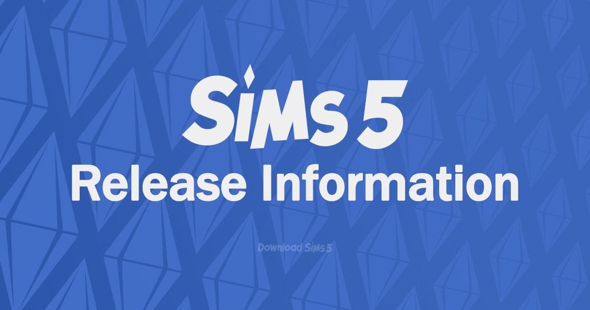 Sims 5 release Facebook banner - 1