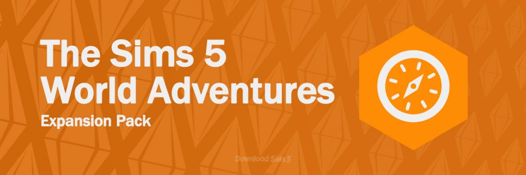 Sims 5 World Adventures expansion pack