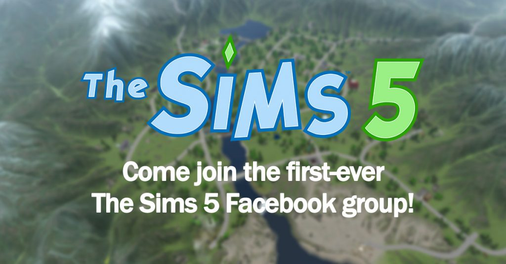 Come join the first-ever The Sims 5 Facebook group